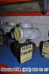 Турбіна МАН 460, ремонт турбін man, K31
