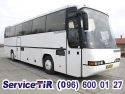 автобус туристический неоплан транслайнер