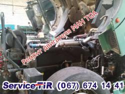 ремонт двигателя man tga