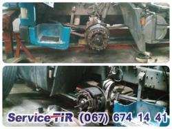 ремонт ступицы даф ХF95