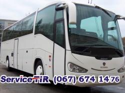 запчасти для автобуса Scania Irizar